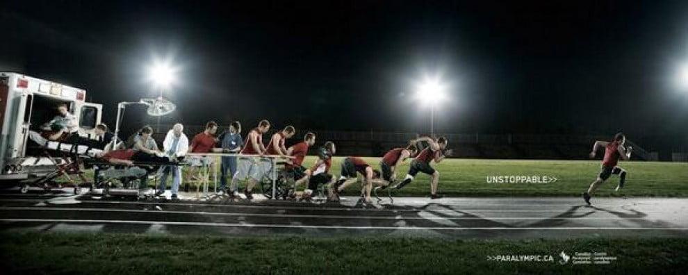 Campagna paraolimpiadi canadesi