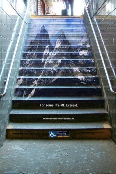 """""""Per alcuni, è l'Everest"""". American Disability Association"""