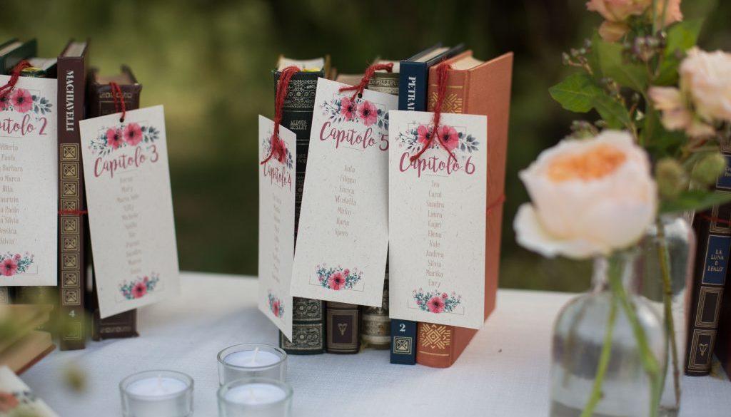 Segnaposto Matrimonio Londra.Libri Come Segnaposto Per Un Matrimonio Letterario Fooks