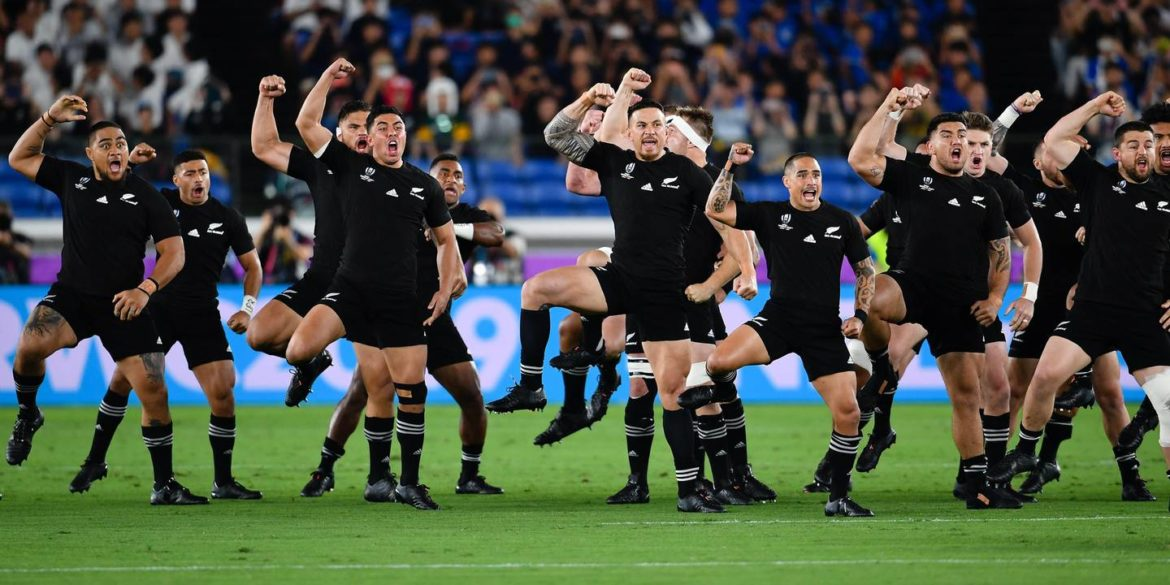 All Blacks alla Coppa del mondo di rugby