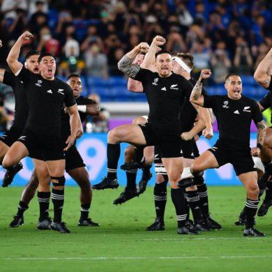All Blacks alla Coppa del mondo di rugby