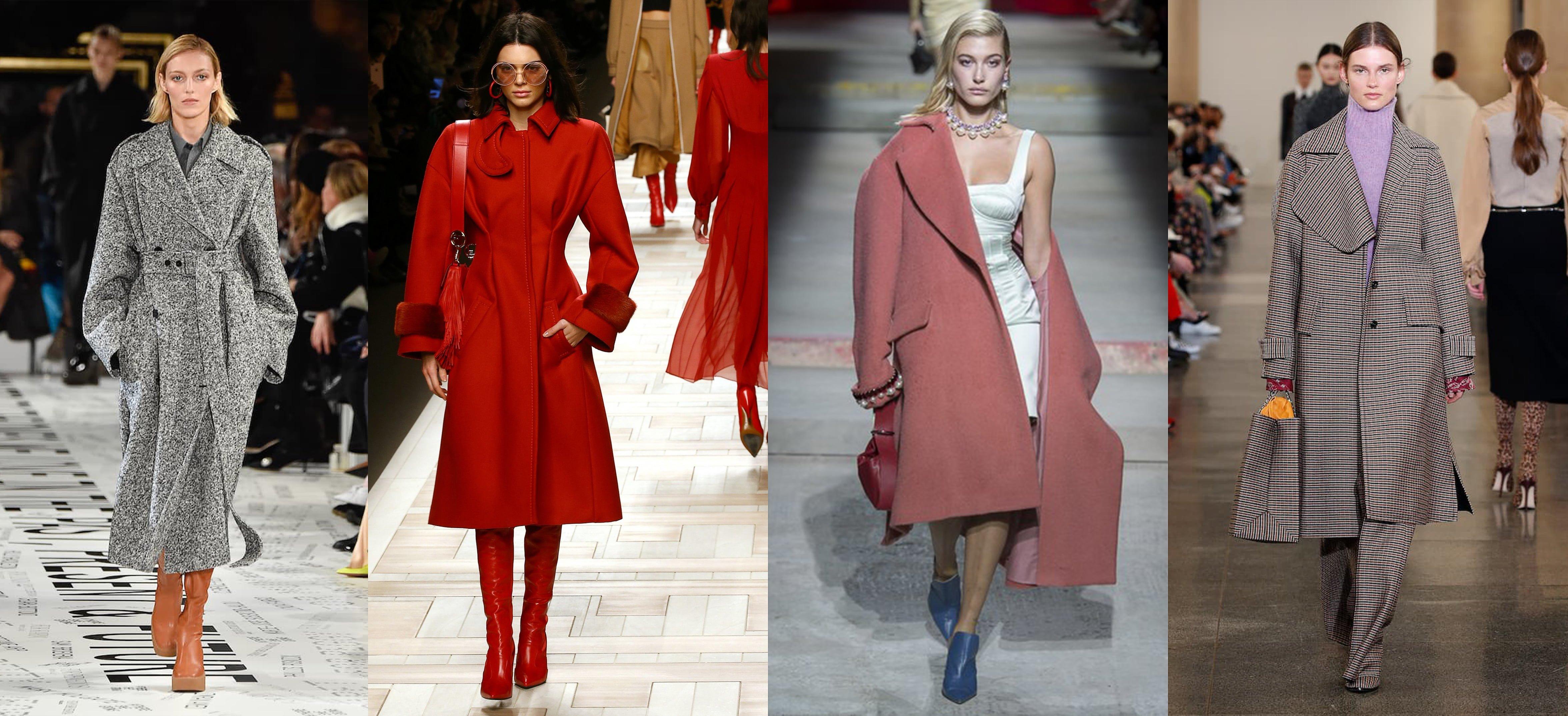 cappotto invernale sfilata