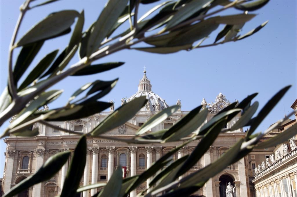 Prima domenica delle Palme senza le palme o un ramoscello di ulivo al ritorno dalla Chiesa