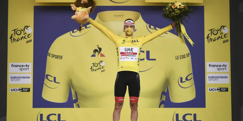 Pogacar vincitore del Tour de France